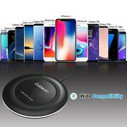 Iphone X Wireless Charger, Cubevit Qi Wireless Charging Pad Stand