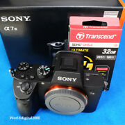 Sony A7m3 Ilce-7m3 A7 Iii Only Body Full Frame 4k Hdr 11 Languages Selectable