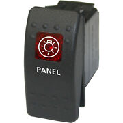 Panel 704 Rocker Switch Red 12v Bow Anchor Marine Water Nautical
