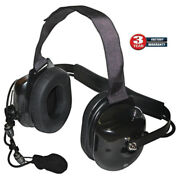 Titan Extreme Noise Black Headset Replacement For Klein K-cord And Qd Adapters
