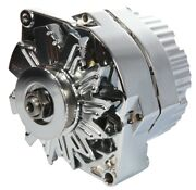 Proform 66445.8n Alternator 80 Amp Gm 1 Wire Style Machined Pulley Chrome Finish