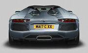 Private Number Plate Man C Xx Officially Ma17 Cxx Man City Private 2017 Plate