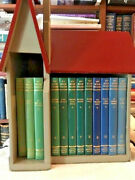 My Book House By Olive Miller 12 Vol In Original Wooden House 1960