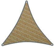 Coolaroo Triangle Commercial Shade Sail 5m 95 Uv Block Fade Resistant Beech