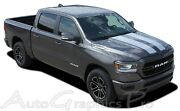 Fits 2019 Dodge Ram Rally Hood Racing Stripes Tailgate Decals Vinyl Graphic 3m