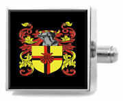 Ford Scotland Family Crest Surname Coat Of Arms Cufflinks Personalised Case