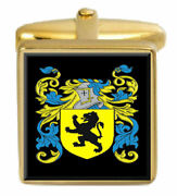 Dickie Scotland Family Crest Coat Of Arms Heraldry Cufflinks Box Set Engraved