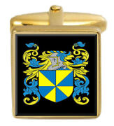 Downie Scotland Family Crest Coat Of Arms Heraldry Cufflinks Box Set Engraved