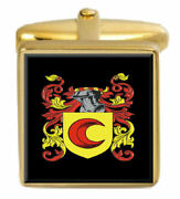Hairs Scotland Family Crest Coat Of Arms Heraldry Cufflinks Box Set Engraved