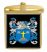 Tandy Scotland Family Crest Coat Of Arms Heraldry Cufflinks Box Set Engraved