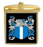 Mccandless Scotland Family Crest Surname Coat Of Arms Cufflinks Box Set Engraved