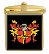 Reat Scotland Family Crest Coat Of Arms Heraldry Cufflinks Box Set Engraved