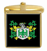 Collier Scotland Family Crest Coat Of Arms Heraldry Cufflinks Box Set Engraved