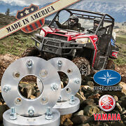 X4 Usa 4x156 To 4x110 Wheel Adapters/spacers 1.25 Thick   Polaris And Yamaha Atv