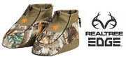 Realtree Edge Camo And Black Boot Covers Foot Insulators - Hunting / Ice Fishing
