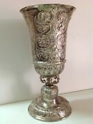 Antique White Metal Big Royal Cup 19th England France Uk French Rare M1866