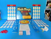 Vintage Complete/clean 1957 First Year Cadaco-ellis Math Magic 3 Modern Games