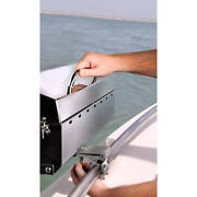 Quick Release Inboard Outboard Boat Rail Barbecue Marine Grill Mount Adapter