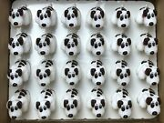 24 Vintage Pound Puppies Pencil Sharpeners In Mfg Display Box. Collectable