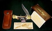Schrade Lb8 Knife Uncle Henry Lockback 5 Closed W/packagingpapers And Loss Cert.
