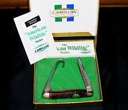 Camillus 17a Knife American Wildlife Mallard Duck W/packaging And Papers Rare