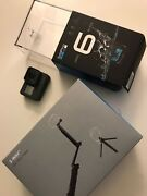Gopro Hero 6 Action Camera - Black Withgopro 3-way Grip Arm Tripod Pre-owned