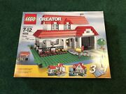 Lego Creator House 3 In 1 4956 New Sealed