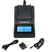 Kastar Battery Lcd Charger For Sony Np-f970pro Sony Gv-d800 Gv-d900 Gv-hd700e