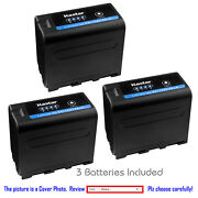Kastar Replacement Battery For Sony Np-f970pro Sony Gv-d800 Gv-d900 Gv-hd700e