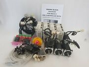 Samsung 400w Servo Packdriver Motor 4-axis Cncrouter Working Free Ship