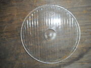 Antique Car Lens Monogram Lens Company Head Lamp Light Pre Owned Chipped As Is
