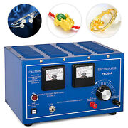 30a Platinum Plating Machine Silver Gold Copper Electroplating Rectifier Smooth