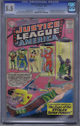 Brave And The Bold 30 Dc 1960 3rd App.justice League Of America,cgc 5.5 Fine-
