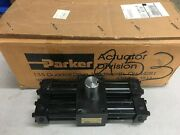 New In Box Parker Hydraulic Rotary Actuator Htr10-180-8c-ab12-c