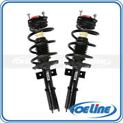 2x Quick Complete Front Struts Assembly Gas Shocks For 2007-2012 Gmc Acadia