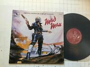 Brian May Ost Mad Max Lp 1980 Us Orig Varese Soundtrack Mel Gibson Stv81144 Rare