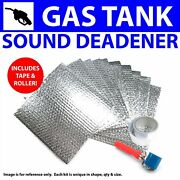 Heat And Sound Deadener Early Cars 1935 - 40 Gas Tank Kit + Tape, Roller 8322cm2