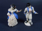 Ceramic Arts Studio - Colonial Boy And Girl - 5 3/4 And 5 Tall - Excellent