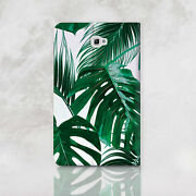 Floral Samsung Galaxy Tab S3 9.7 Cover Leaves Tablet S2 8 9.7 Wallet Case Tab A7