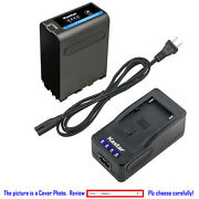 Kastar Battery Super Charger For Sony Np-f990pro Sony Nex-fs100 Pxw-z150 Ccd-tr3