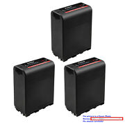 Kastar Replacement Battery For Sony Np-f990pro Sony Gv-d800 Gv-d900 Gv-hd700e