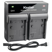 Kastar Battery Dual Rapid Charger For Panasonic Dmw-bcg10 Bcg10e And Lumix Dmc-zs5