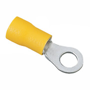 Ideal 84-2341 Vinyl Insulated Ring Terminal, 12-10 Awg, 10 Stud, 1000/box