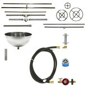 Convert A Wood Burning Firepit To Gas Lp/ Ng - Complete Kit From Easyfirepits