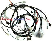 Front End Headlight Headlamp Wiring Harness 70-73 Chevy Impala Caprice Biscayne