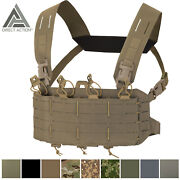 Direct Action Tactical Helikon Chest Rig Vest Molle Operator Loaded Tiger Moth