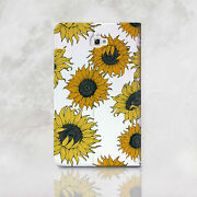 Sunflowers Samsung Galaxy Tab A 7 9.7 10.1 Wallet Case Floral Tab S2 8 9.7 Cover