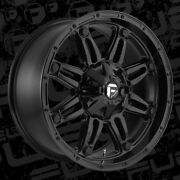 20 20x10 D625 Hostage Black Wheels 33 Fuel At Tire Package 6x135 Ford F-150