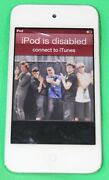 Apple Ipod Touch 4th Generation White 8gb Model A1367 Cracked Screen