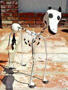 Day Of The Dead El Caballo Horse Paper Mache Hand Made Mexico W/ Free Shipping